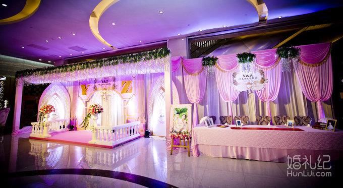 【罗曼蒂克】粉色主题婚礼--26999元套餐