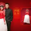 糖果妹的中国风婚纱照————精修片和相册排版
