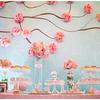 粉色+蓝色的婚礼 越看图片越觉得备婚辛苦值得