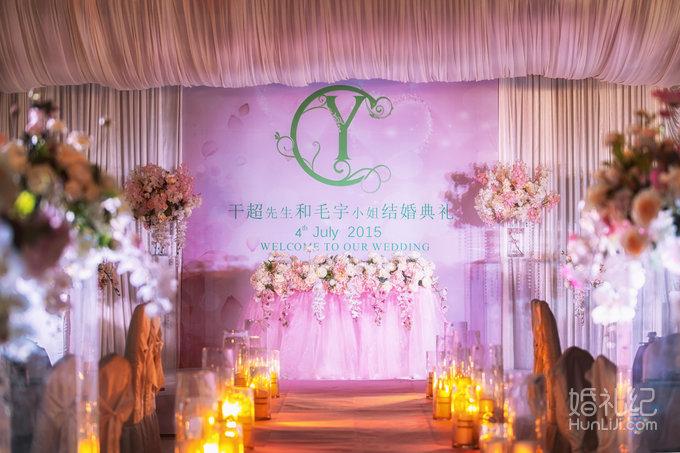 婚礼 迎宾通道设计