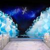 冰雪主题婚礼 感觉走进了冰窖