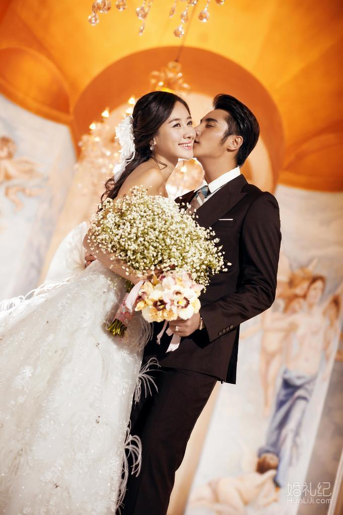【360度摄影】韩式实景婚纱照 时尚版