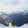 爱你在雪山森林和湖边,我的新西兰婚纱照