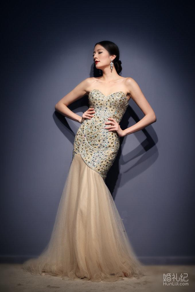torani顶级彩纱 · 炫金,婚纱礼服设计作品欣赏,婚礼