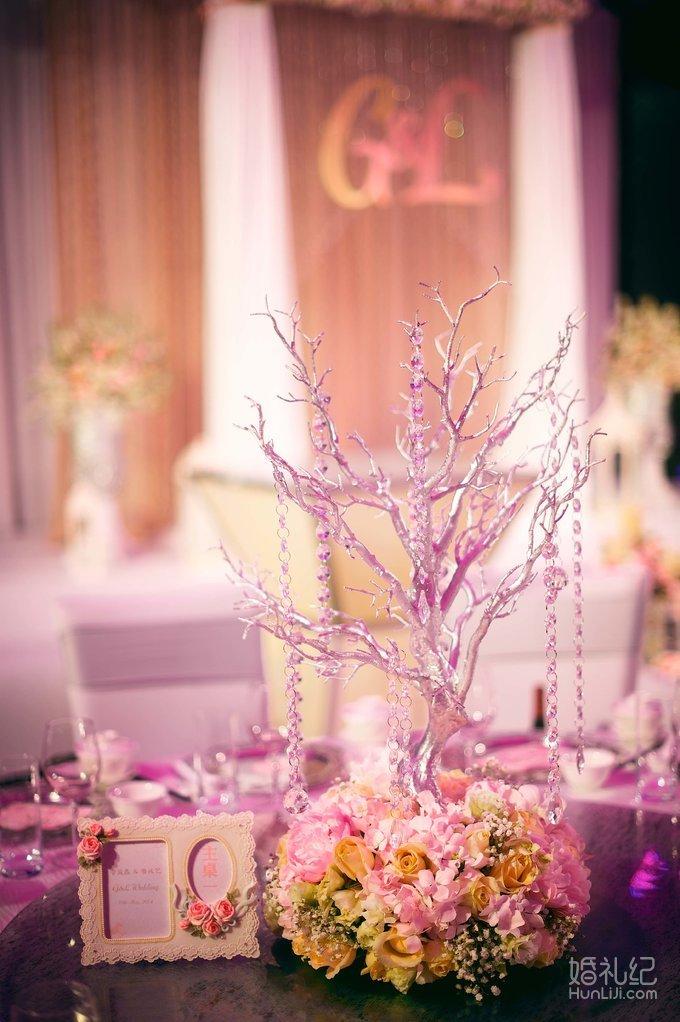 欧式蜡烛);wedding牌及花