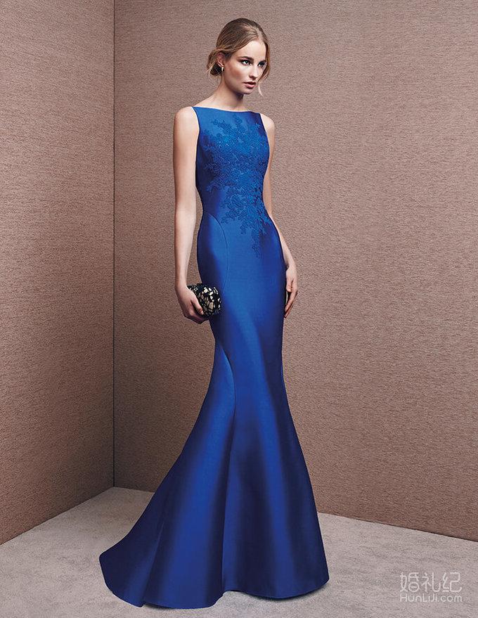 lasposa淡蓝色礼服系列