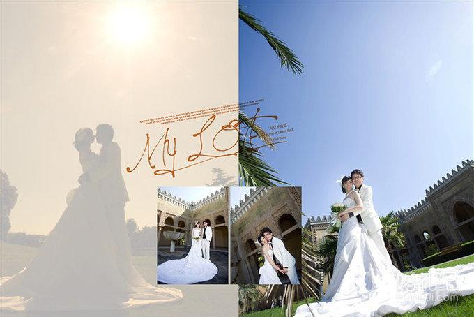 婚纱照相册排版到手 这微妙的感觉怎么说呢?