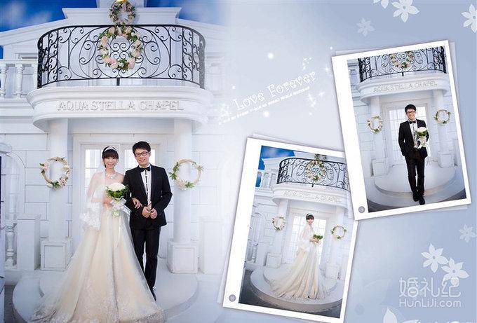 结婚论坛 婚纱照相册排版到手 这微妙的感觉怎么说呢?