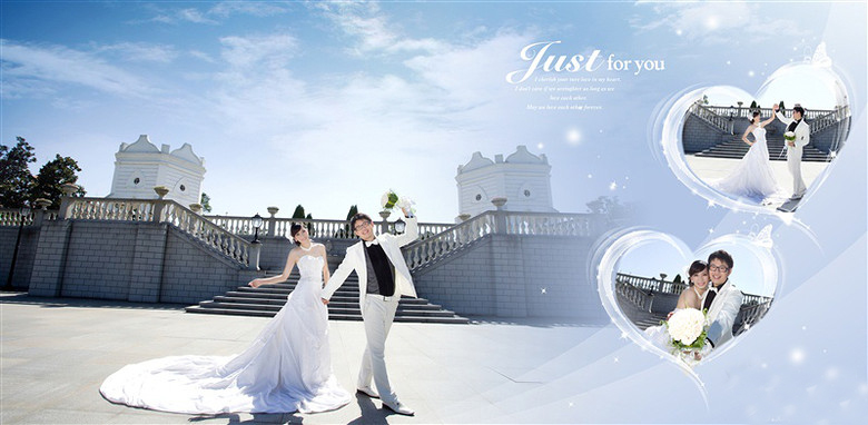 婚纱照相册排版到手 这微妙的感觉怎么说呢?图片