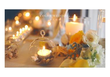 COLORWEDDING 【vintage】清新婚礼风