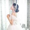 带妆试婚纱,老公的三脚猫摄影作品