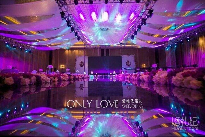 白色欧式婚礼,婚礼策划公司
