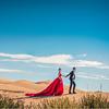 面朝青海湖—我超美的婚纱照[喜欢]