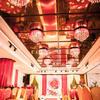 小厅也能办精致婚礼  红+绿效果很惊艳