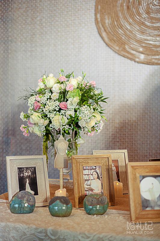 森系婚礼迎宾 室内布置手绘效果图分享展示