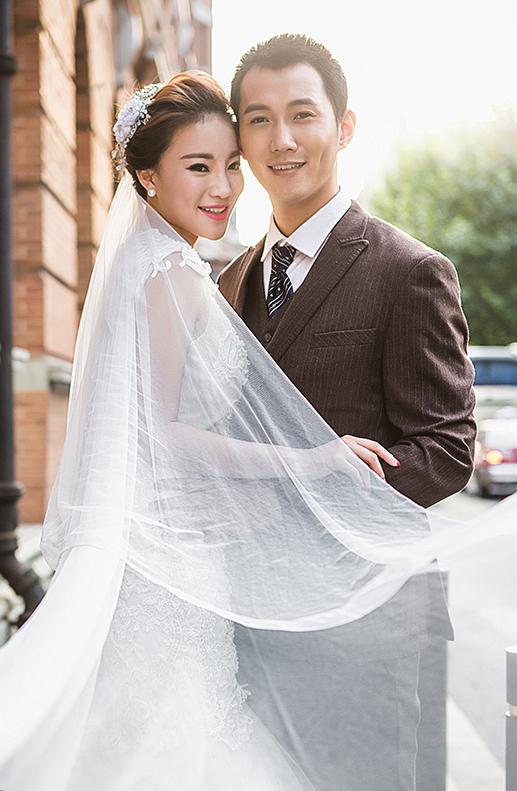 上海拍婚纱照_大上海拍婚纱照怎么能不去外滩 大热天辛苦老公了