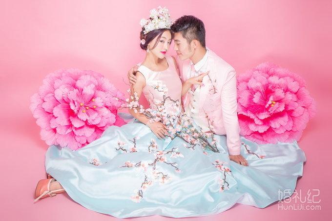 苏格摄影韩式婚纱照【胡巴小魔仙】