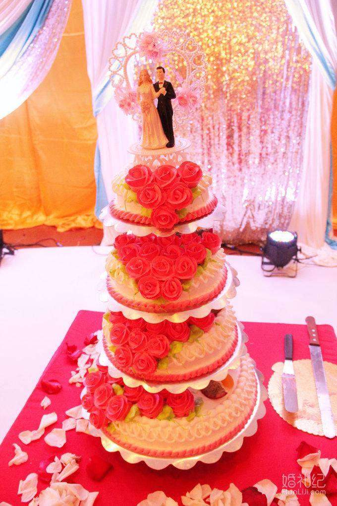 鲜花路引8座 欧式经典背景纱幔1套,  婚礼wedding挂式, 精美烛台1座