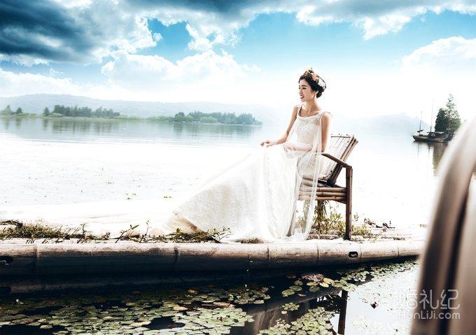 武汉东湖落雁岛 风景秀丽 新人选择婚纱照拍摄的最佳选地