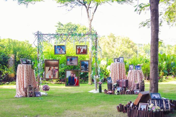 其间还有精致可爱的森林小动物,让整场婚礼主题清晰又富有灵性. 6.