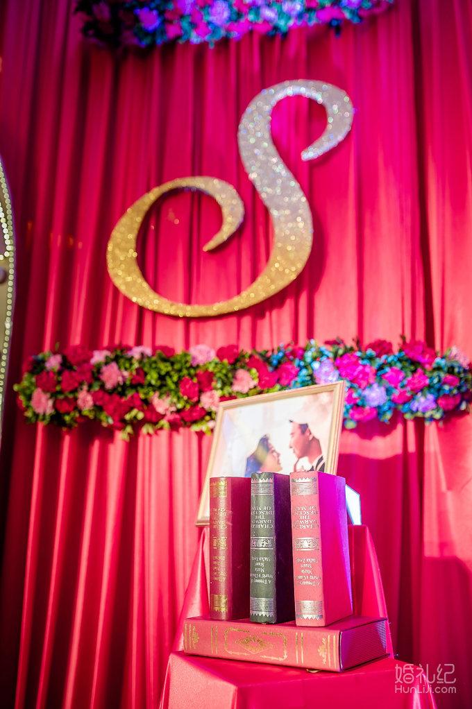 新中式婚礼图片