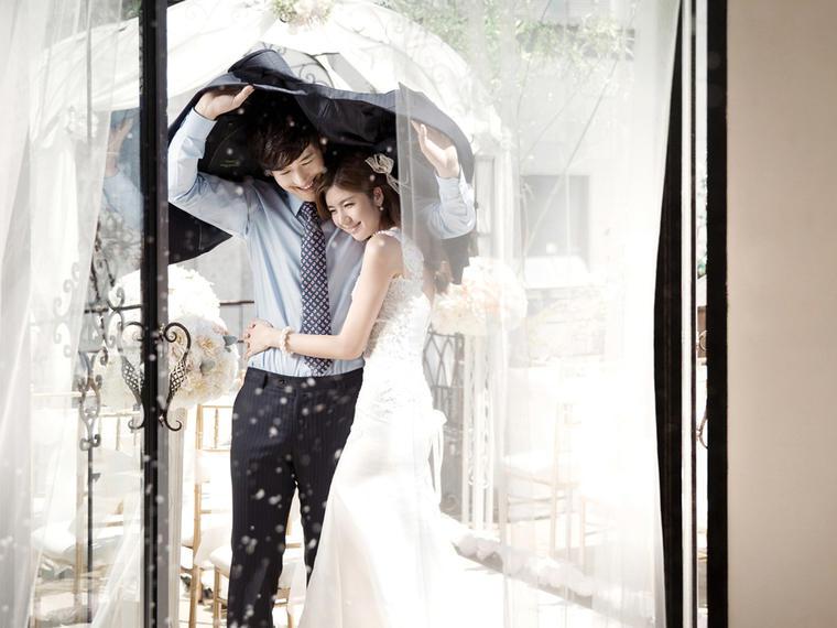 全新时尚《戴安娜》系列婚纱照