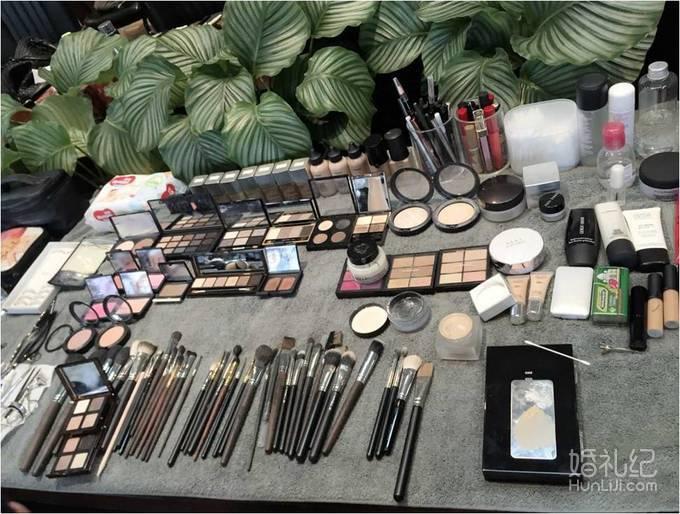【王静】化妆师全程跟妆