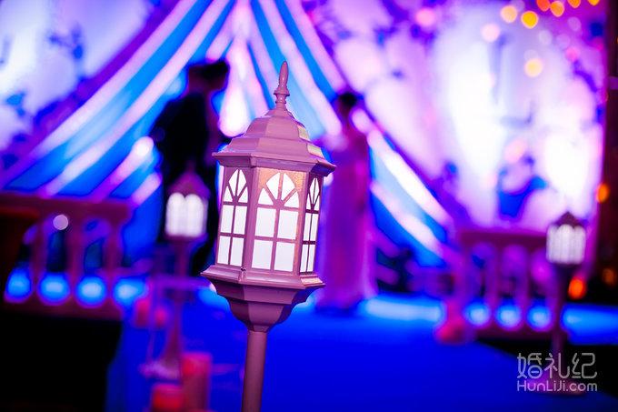 2.蜡烛+白色欧式街灯路引