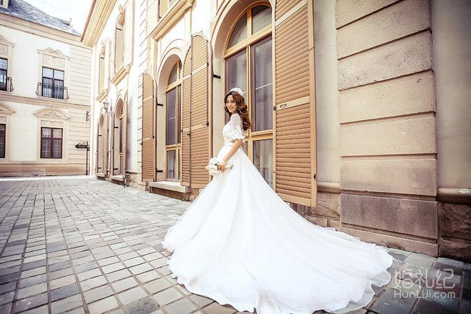 欧式轻奢婚纱风格