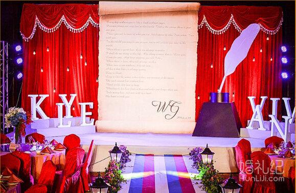 婚礼欧式迎宾支架