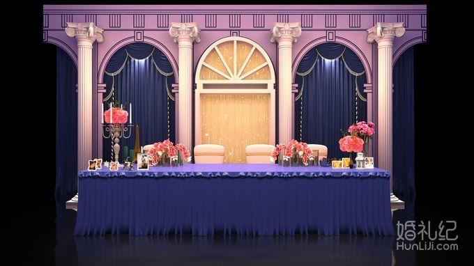 欧式婚礼高清签到台