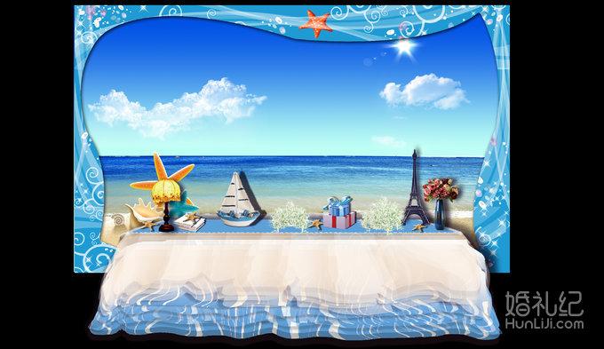 4m】 海洋风格创意边框设计【14*0.