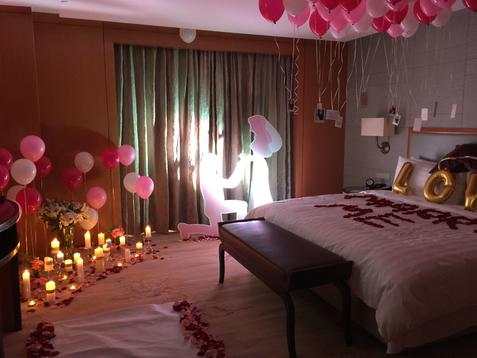 【浪漫酒店温馨室内】创意求婚系列图片