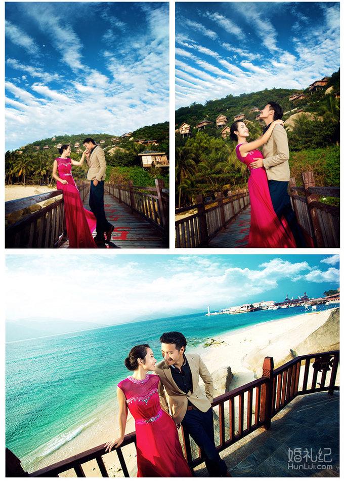 【自然风】5a分界洲岛婚纱摄影仅需19999元
