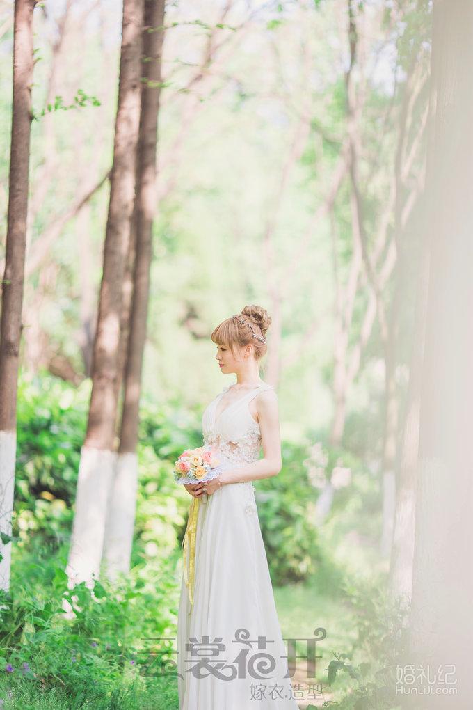 森系小清新礼服,婚纱礼服设计作品欣赏