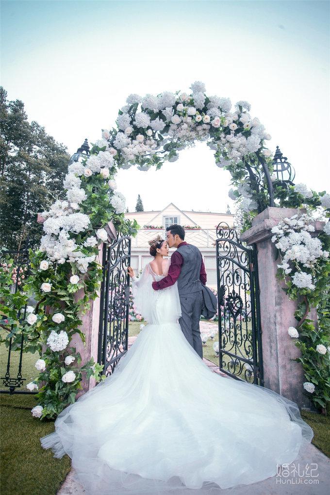 【菲心客片】爆款婚纱--欧式庄园