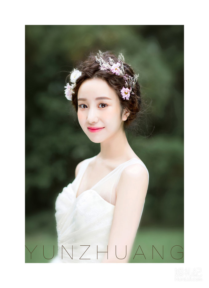芸妆森林系新娘图片