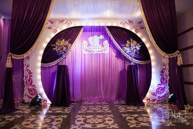 奢华浪漫西式婚礼,婚礼策划公司
