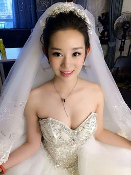 sisay婚纱彩妆造型---新娘早妆图片