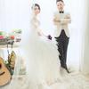 老公负责婚纱照我负责婚庆 干活轻松多了