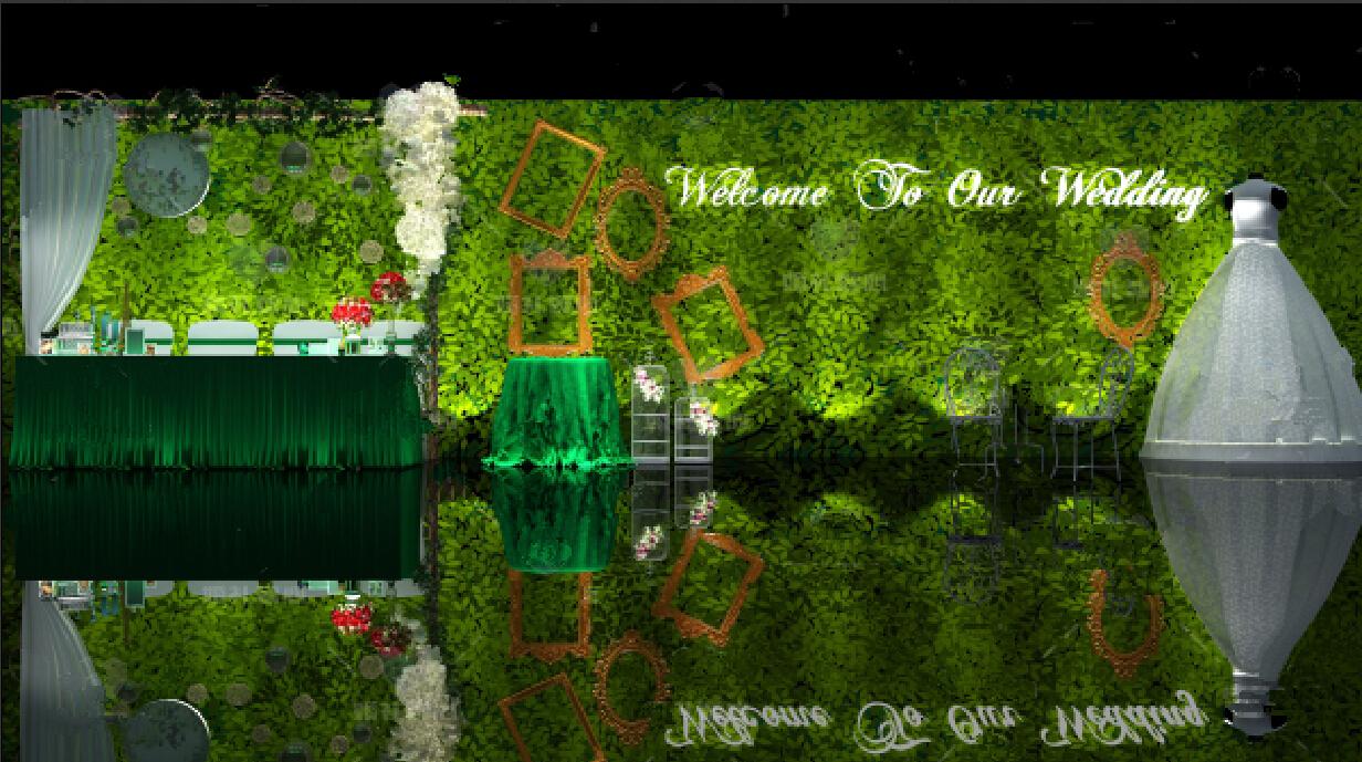 森林系主题墙幼儿园分享展示
