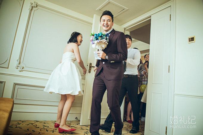 欧式复古风婚礼,婚礼摄影师