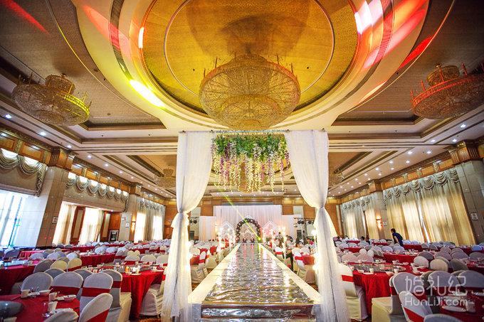 白色淡雅主题婚礼,婚礼策划公司