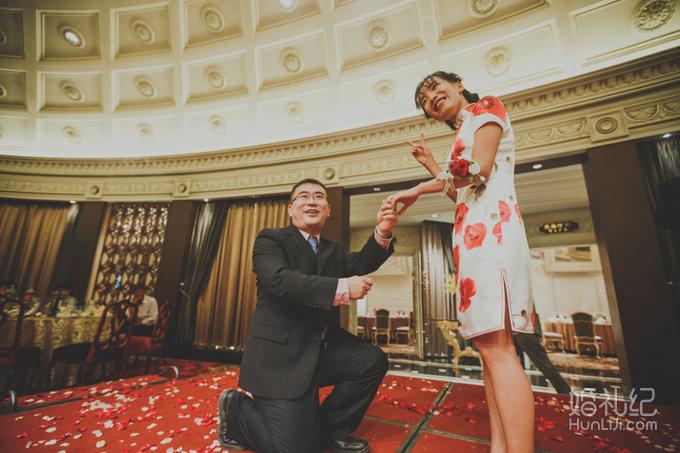 欧式城堡 精致的婚礼