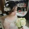 清淡简约风的造型 在婚礼上会太素吗?