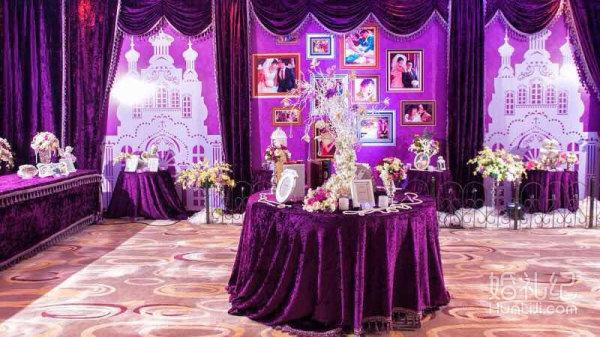 魅力紫色,婚礼策划公司