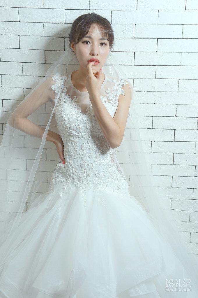 罗曼妮婚纱--鱼尾仪式纱,婚纱礼服设计作品欣赏,婚礼