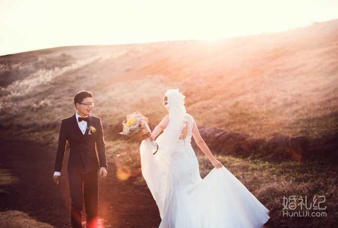 克洛伊全球旅拍 济州岛店,婚礼摄影,婚礼纪 hunliji.