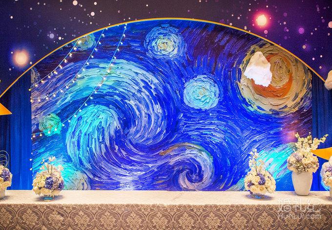梵高 星空图片
