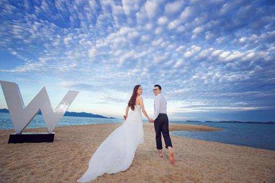 苏梅岛旅拍婚纱,婚礼摄影师
